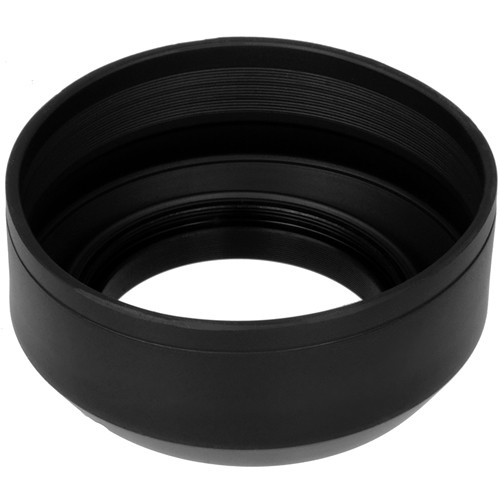 FotodioX 3-Section Rubber Lens Hood (49mm)