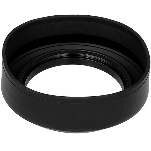 FotodioX 3-Section Rubber Lens Hood (72mm)