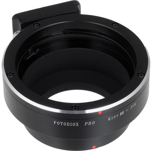 FotodioX Pro Mount Adapter for Kiev 88-Mount Lens to Nikon F-Mount Camera