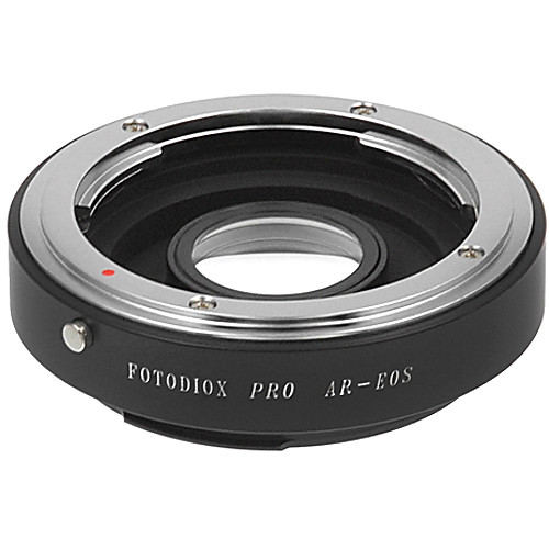 FotodioX Pro Lens Mount Adapter for Konica AR Lens to Canon EF-Mount Camera with Dandelion Focus Confirmation Chip