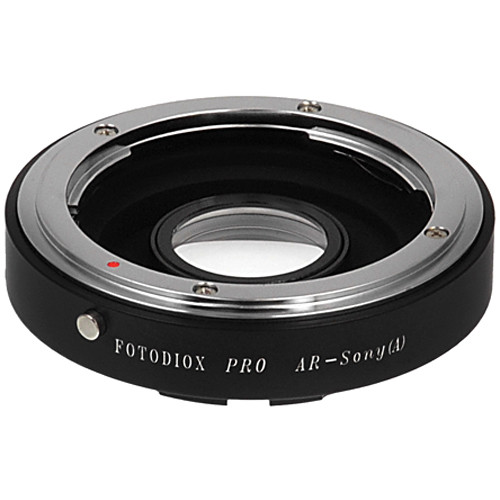 FotodioX Pro Lens Mount Adapter for Konica AR Lens to Sony A Mount Camera