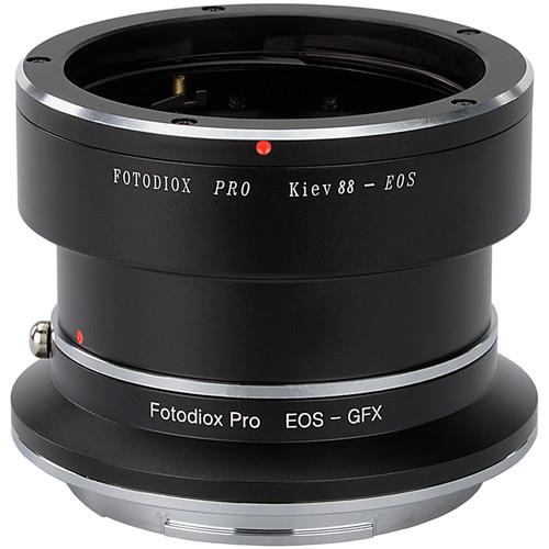 FotodioX Pro Lens Mount Adapter Kit for Kiev 88 Screw-Mount Lens to Fujifilm G-Mount Camera