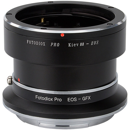 FotodioX Pro Lens Mount Adapter Kit for Kiev 88 Screw-Mount Lens to Fujifilm G-Mount Camera