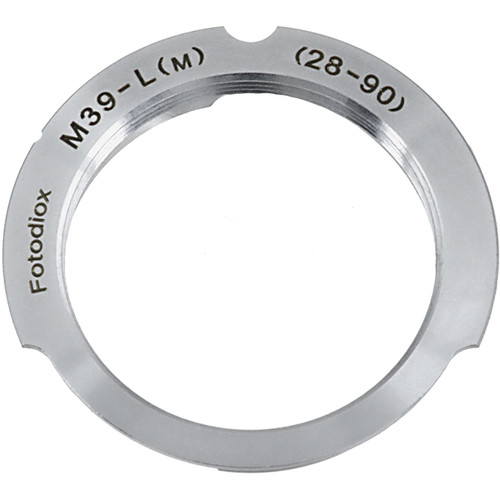 FotodioX M39 Lens to Leica M Camera Adapter (28mm/90mm Frame Lines)