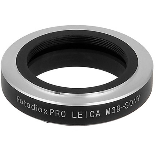 FotodioX Leica L39 Lens to Sony E-Mount Camera Pro Lens Mount Adapter