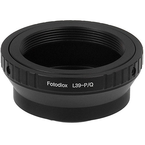 FotodioX Adapter for L39 Mount Lenses to Pentax Q Mount Mirrorless Cameras