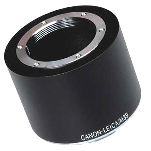 FotodioX Pro Lens Mount Adapter for Visoflex M39 Lens to Canon EF-Mount Camera with Dandelion Focus Confirmation Chip