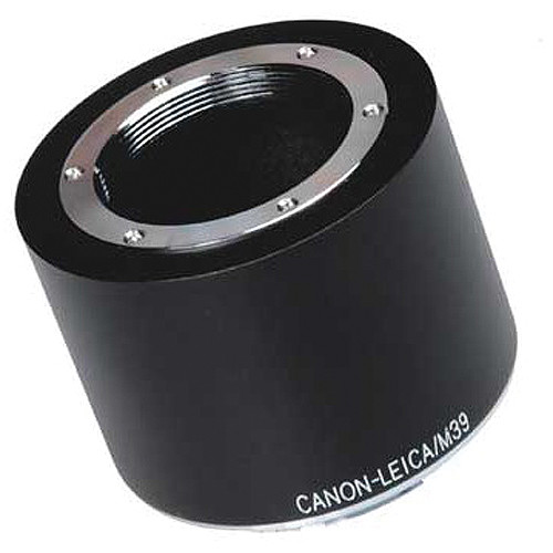 FotodioX Pro Lens Mount Adapter for Visoflex M39 Lens to Canon EF-Mount Camera
