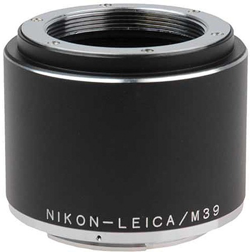 FotodioX Pro Lens Mount Adapter for Visoflex M39 Lens to Nikon F Mount Camera