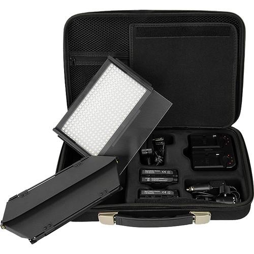 FotodioX Pro LED-312DS Bi-Color LED Photo Video Light Kit