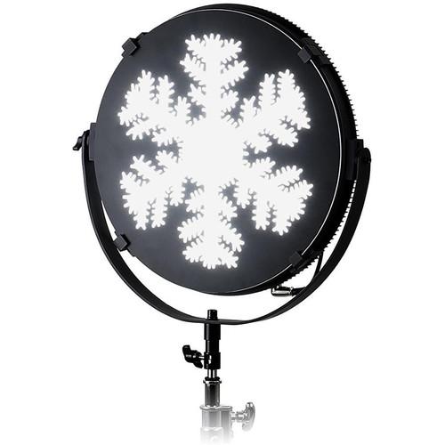"FotodioX Snowflake Catchlight Mask for Pro FACTOR Jupiter Light (12"")"