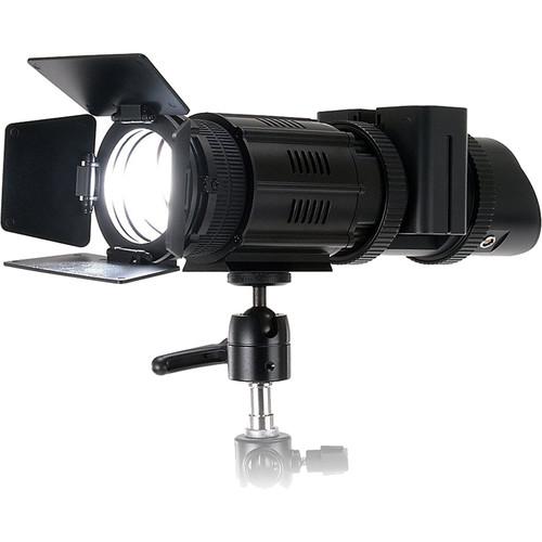 FotodioX Pro PopSpot J-500 High Intensity Daylight Focusing LED Spot Light with Battery Module Kit
