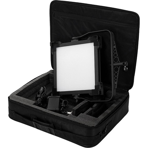 FotodioX Pro FACTOR 1x1 V-2000ASVL Bi-Color Kit with Grid and Travel Case