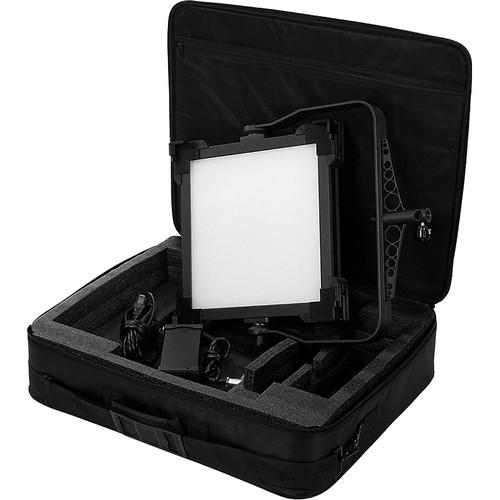 FotodioX Pro FACTOR 1x1 V-2000ASVL Bi-Color Kit with Grid and Travel Case