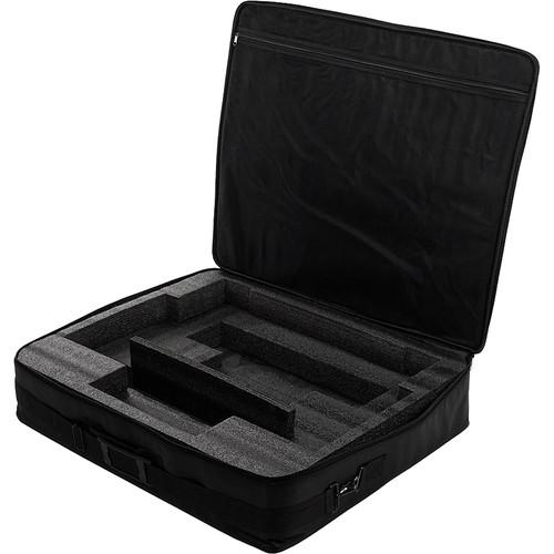 FotodioX Pro FACTOR and FACTOR Jupiter Studio Lights 1 x 2' LED V4000ASVL Case (Black)