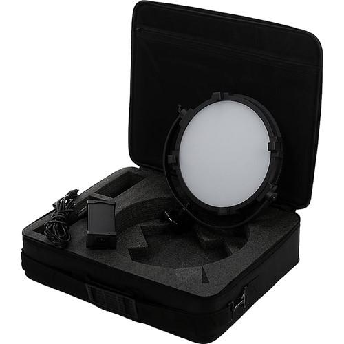 """FotodioX Pro FACTOR Jupiter 12"""" VR-1200ASVL Bi-Color Kit with Grid and Travel Case"""