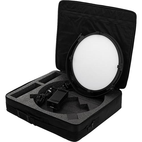 """FotodioX Pro FACTOR Jupiter 18"""" VR-2500ASVL Bi-Color Kit with Grid and Travel Case"""