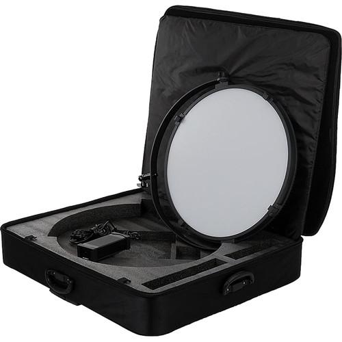 """FotodioX Pro FACTOR Jupiter 24"""" VR-4500ASVL Bi-Color Kit with Grid and Travel Case"""