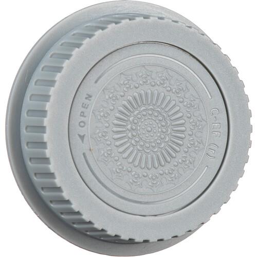 FotodioX Designer Body Cap for Canon EOS EF & EF-S Mount Camera (Gray)