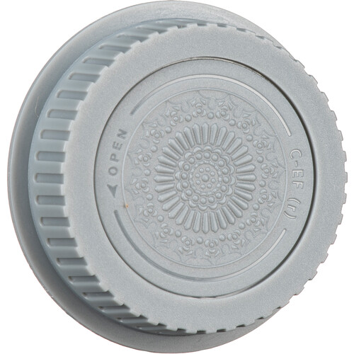 FotodioX Designer Rear Lens Cap for Canon EOS EF & EF-S-Mount Lenses (Gray)