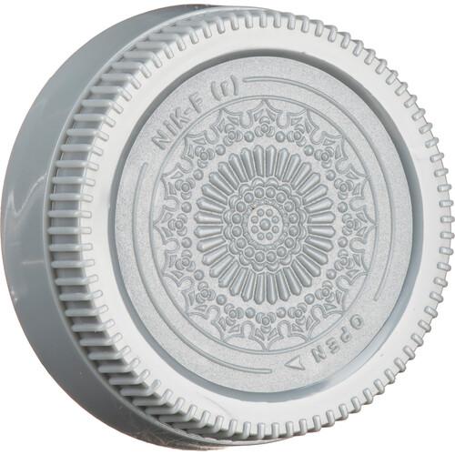 FotodioX Designer Rear Lens Cap for Nikon F-Mount Lenses (Gray)