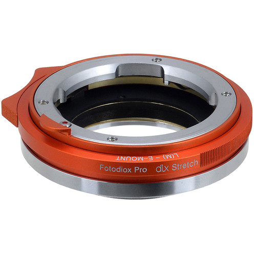 FotodioX Leica M Lens to Sony E-Mount Camera DLX Series Stretch Adapter