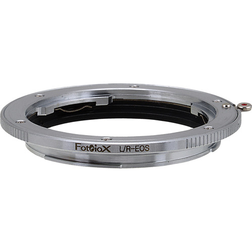 FotodioX Mount Adapter with Focus Confirmation Chip for Leica R-Mount Lens to Canon EOS Camera