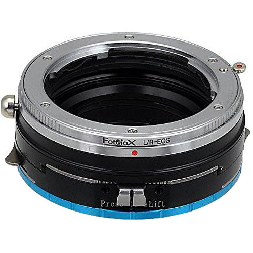 FotodioX Pro Shift Mount Adapter for Leica R-Mount Lens to Fujifilm X-Mount Camera