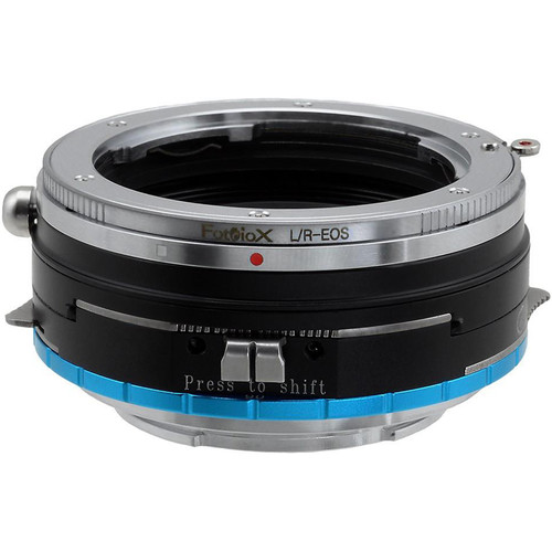 FotodioX Pro Shift Mount Adapter for Leica R-Mount Lens to Sony E-Mount Camera
