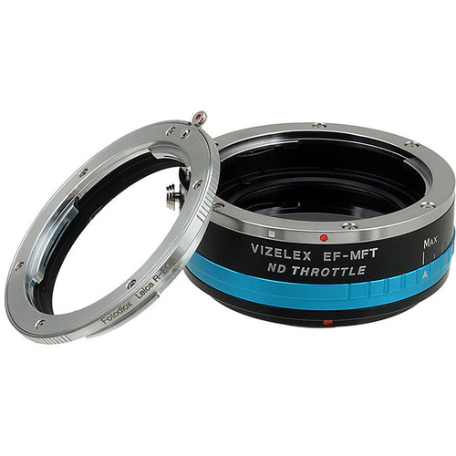 FotodioX Leica R Lens to Micro Four Thirds Camera Vizelex ND Throttle Adapter