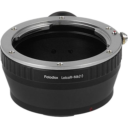 FotodioX Mount Adapter for Leica R-Mount Lens to Nikon 1-Series Camera