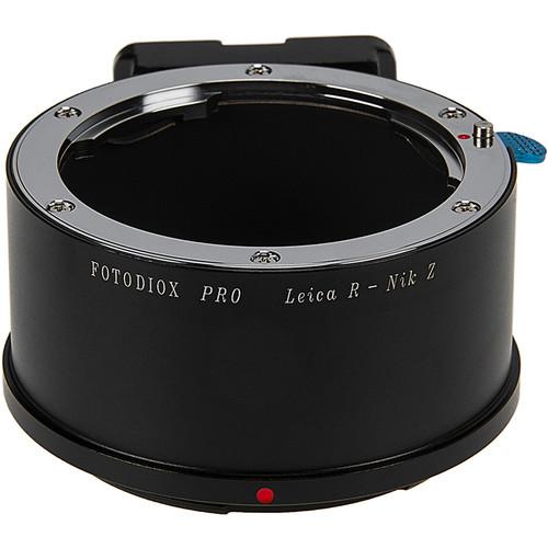 FotodioX Leica R Lens to Nikon Z-Mount Camera Pro Lens Adapter