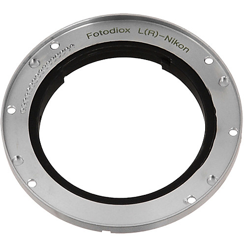 FotodioX Pro Lens Mount Adapter for Leica R Lens to Nikon F Mount Camera