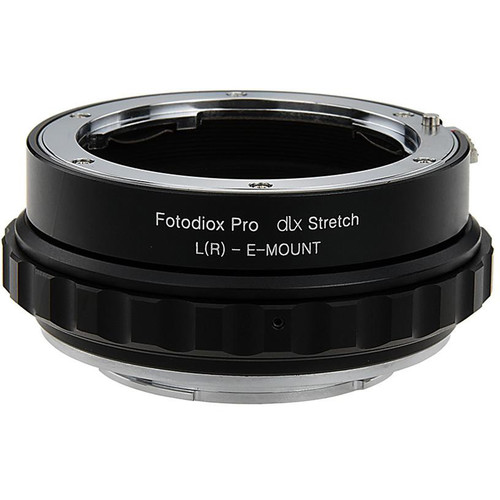 FotodioX Leica R Lens to Sony E-Mount DLX Stretch Adapter