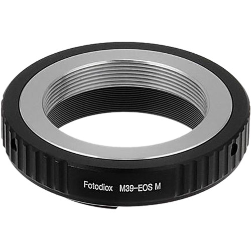 FotodioX Mount Adapter for M39/L39-Mount Lens to Canon EOS M Camera