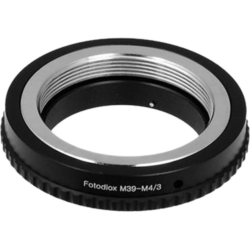 FotodioX Mount Adapter for M39/L39-Mount Lens to Micro Four Thirds Camera