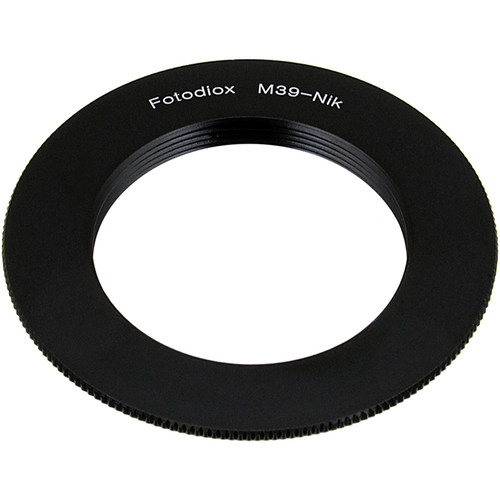 FotodioX Mount Adapter for M39/L39-Mount Lens to Nikon F-Mount Camera