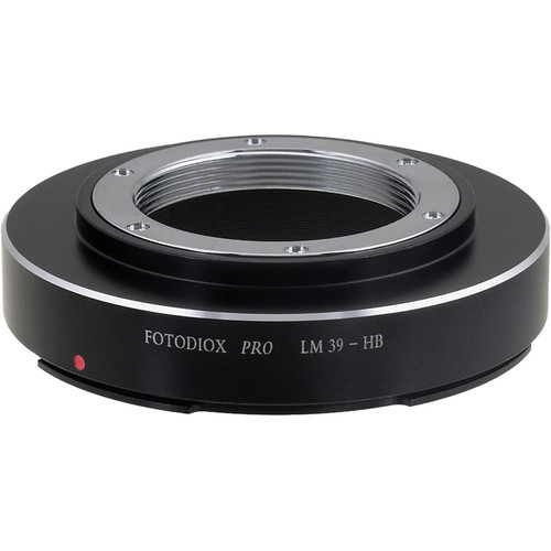 FotodioX Pro Mount Adapter for Leica M39/L39 Visoflex Lens to Hasselblad V-Mount Camera