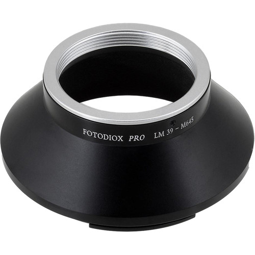 FotodioX Pro Mount Adapter for Leica M39/L39 Visoflex Lens to Mamiya 645 Camera