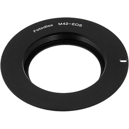 FotodioX Mount Adapter with Focus Confirmation Chip for M42 Type 2 Lens to Canon EOS Camera