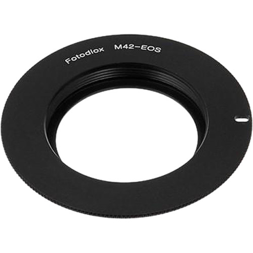 FotodioX Lens Mount Adapter for M42 Type 2 Screw Mount SLR Lens to Canon EOS Mount SLR Camera Body