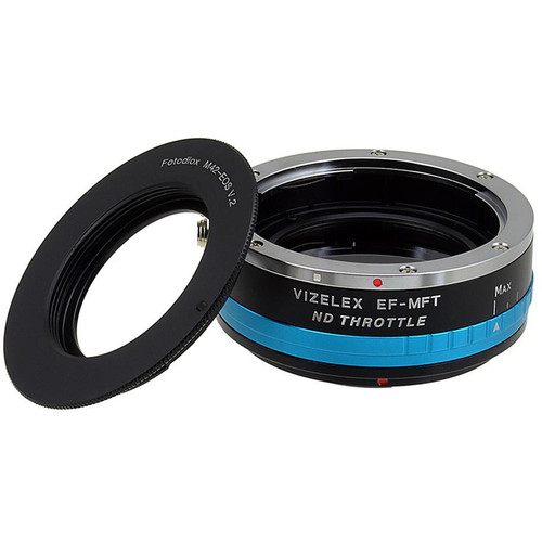 FotodioX M42 Lens to Micro Four Thirds Camera Vizelex ND Throttle Adapter