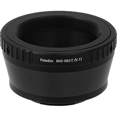 FotodioX Mount Adapter for M42 Type 1 Lens to Nikon 1-Series Camera