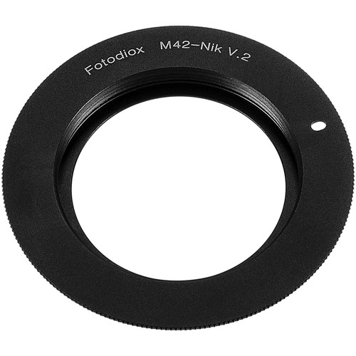 FotodioX Mount Adapter for M42 Type 2 Lens to Nikon F-Mount Camera