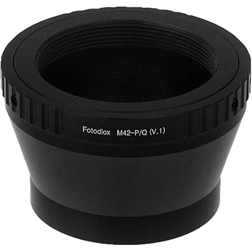 FotodioX Mount Adapter for M42 Type 1 Lens to Pentax Q-Mount Camera
