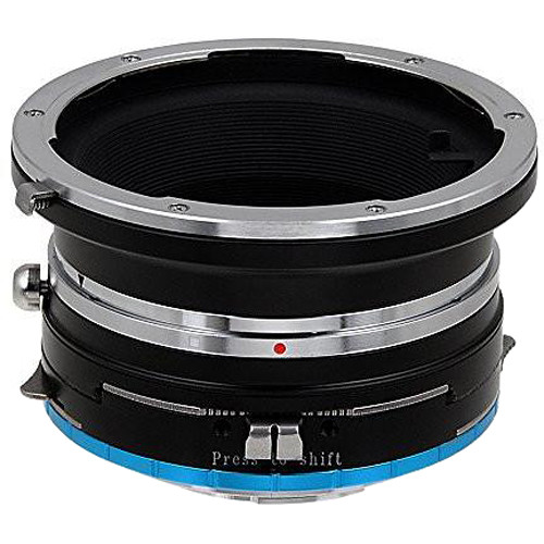 FotodioX Pro Shift Mount Adapter for Mamiya 645 Lens to Fujifilm X-Mount Camera
