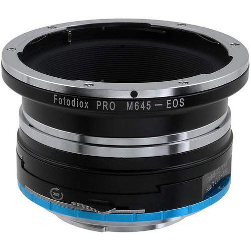 FotodioX Pro Shift Mount Adapter for Mamiya 645 Lens to Sony E-Mount Camera