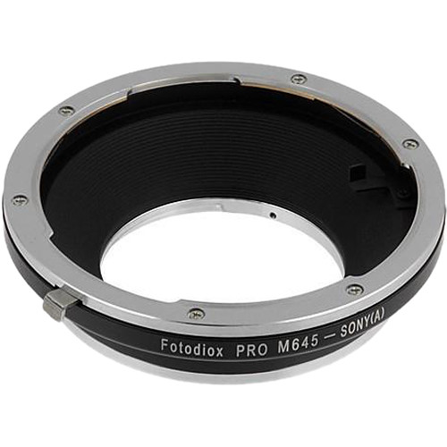FotodioX Pro Mount Adapter for Mamiya 645 Lens to Sony A-Mount Camera