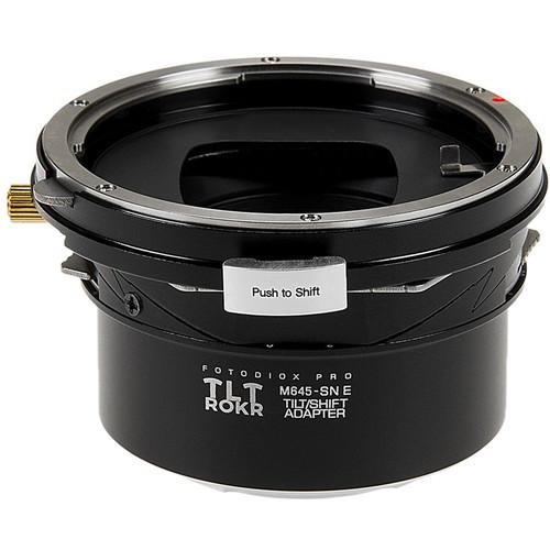 FotodioX Pro TLT ROKR Tilt/Shift Lens Mount Adapter for Mamiya 645 Lens to Sony E-Mount Camera