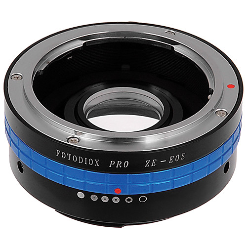 FotodioX Pro Lens Mount Adapter for Mamiya ZE Lens to Canon EF-Mount Camera with Dandelion Focus Confirmation Chip